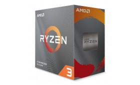 AMD Ryzen 3 3100 CPU with Wraith Stealth Cooler, A..