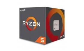 AMD Ryzen 5 2600 CPU with Wraith Cooler, AM4, 3.4G..
