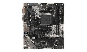 Asrock A320M-HDV R4.0, AMD A320, AM4, Micro ATX, 2..