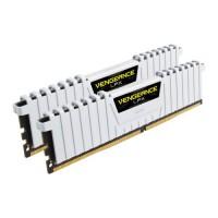 Corsair Vengeance LPX 16GB Kit (2 x 8GB), DDR4, 3000MHz (PC4-24000), CL16, XMP 2.0, DIMM Memory, White