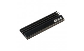 Akasa Passive Cooler for M.2 2280 SSDs, Aluminium ..