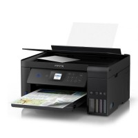 Epson ET-2750 EcoTank 3-in-1 Wireless/USB Inkjet Printer, Print/Scan/Copy, LCD Screen, Auto Double-Sided Printing, Ultra-Low-Cost Printing
