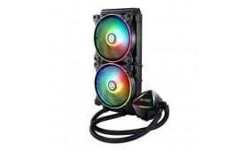 ADATA XPG Levante 240 ARGB Liquid CPU Cooler, 2 x ..