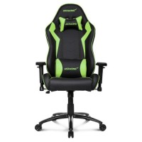 AKRacing Core Series SX Gaming Chair Black  Green 5/10 Year Warranty